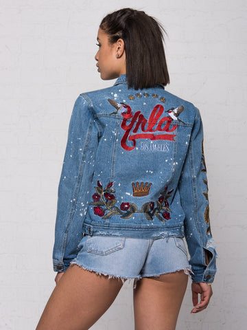 Soto Jr. Denim Jacket - Blue