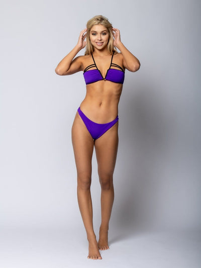Reckless Girls Womens - Swimwear - Bikini Veronique Brief Bikini Bottom - Purple