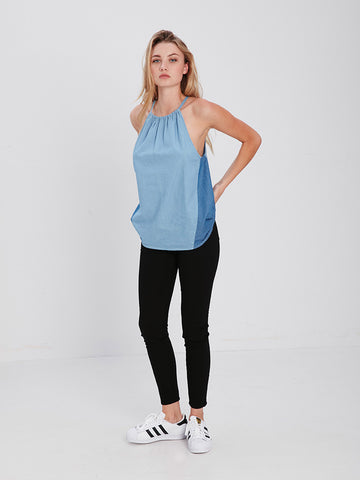 Demi Top - Blue