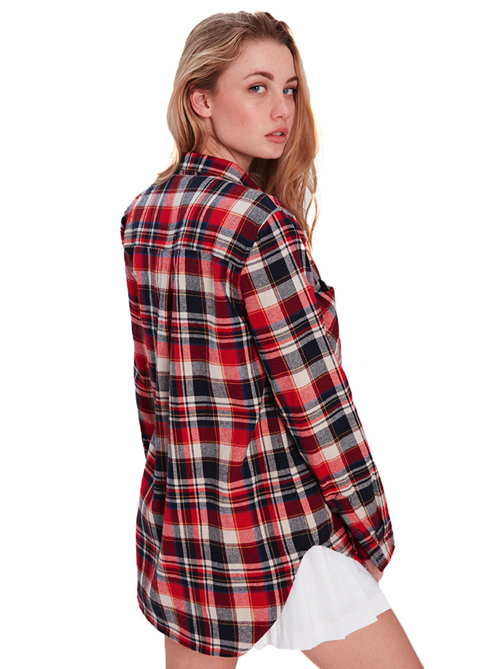 8c832c8822 Reckless Girls Womens - Tops - Shirts / Blouses Lena Button Up
