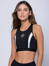 Young and Reckless Womens - Midnight Sports Bra