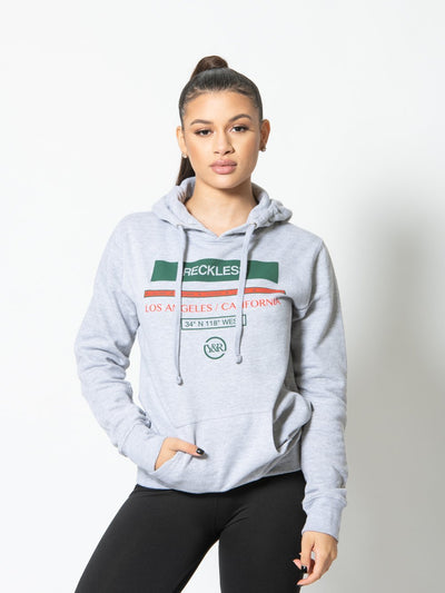 Reckless Girls Womens - Tops - Sweatshirts Classy Jr Hoodie - Heather Grey XS / HEATHER GREY