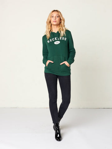 Collegiate Hoodie - Hunter Green