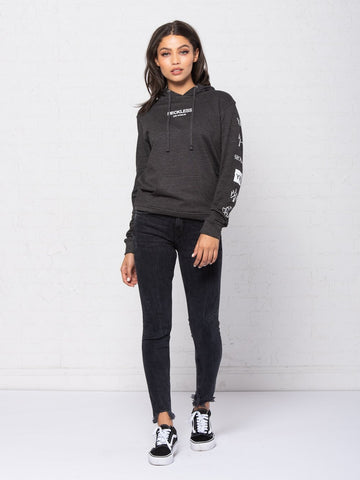 Head 2 Head Jr Hoodie - Charcoal Grey