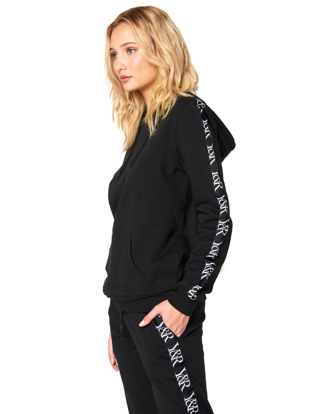 Reckless Girls Womens - Tops - Sweatshirts Kae Hoodie - Black