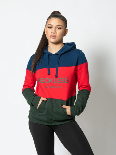 Reckless Girls Womens - Tops - Sweatshirts Mondrian Jr. Hoodie - Multi XS / MULTI