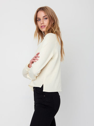 Navaeh Crewneck Sweater - Tan