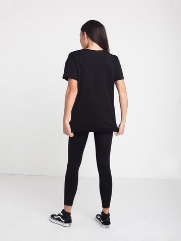 Escape Boyfriend Tee - Black