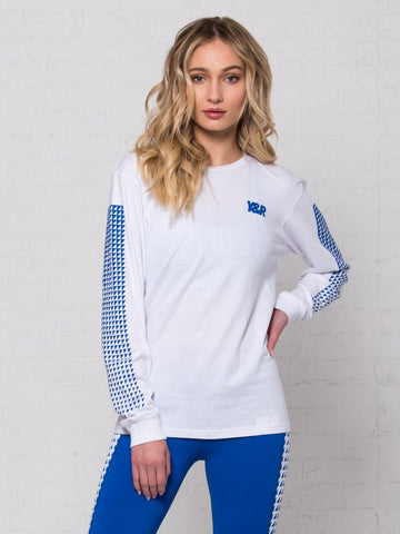 Reckless Girls Womens - Tops - Tees Fusion Long Sleeve - White