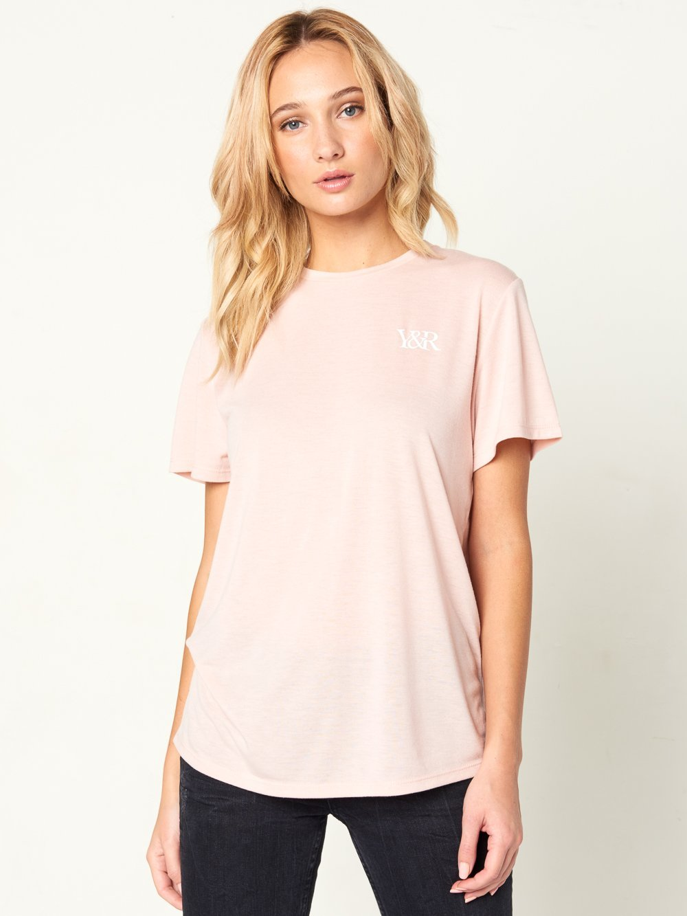 Reckless Girls Womens - Tops - Tees Galore S/S Tee - Pink