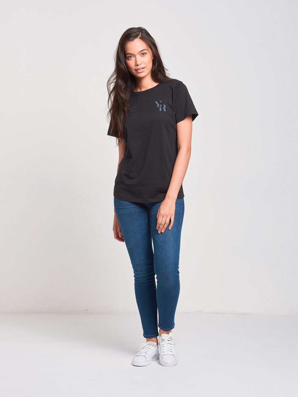 Reckless Girls Womens - Tops - Tees Gatsby BF Tee- Black