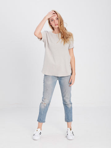 Roxie Top- Grey