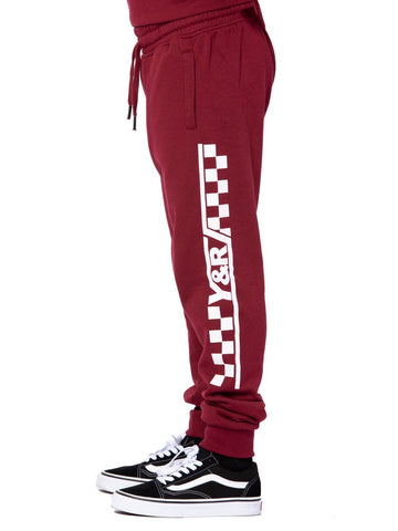 Youth Excursion Sweatpants - Burgundy