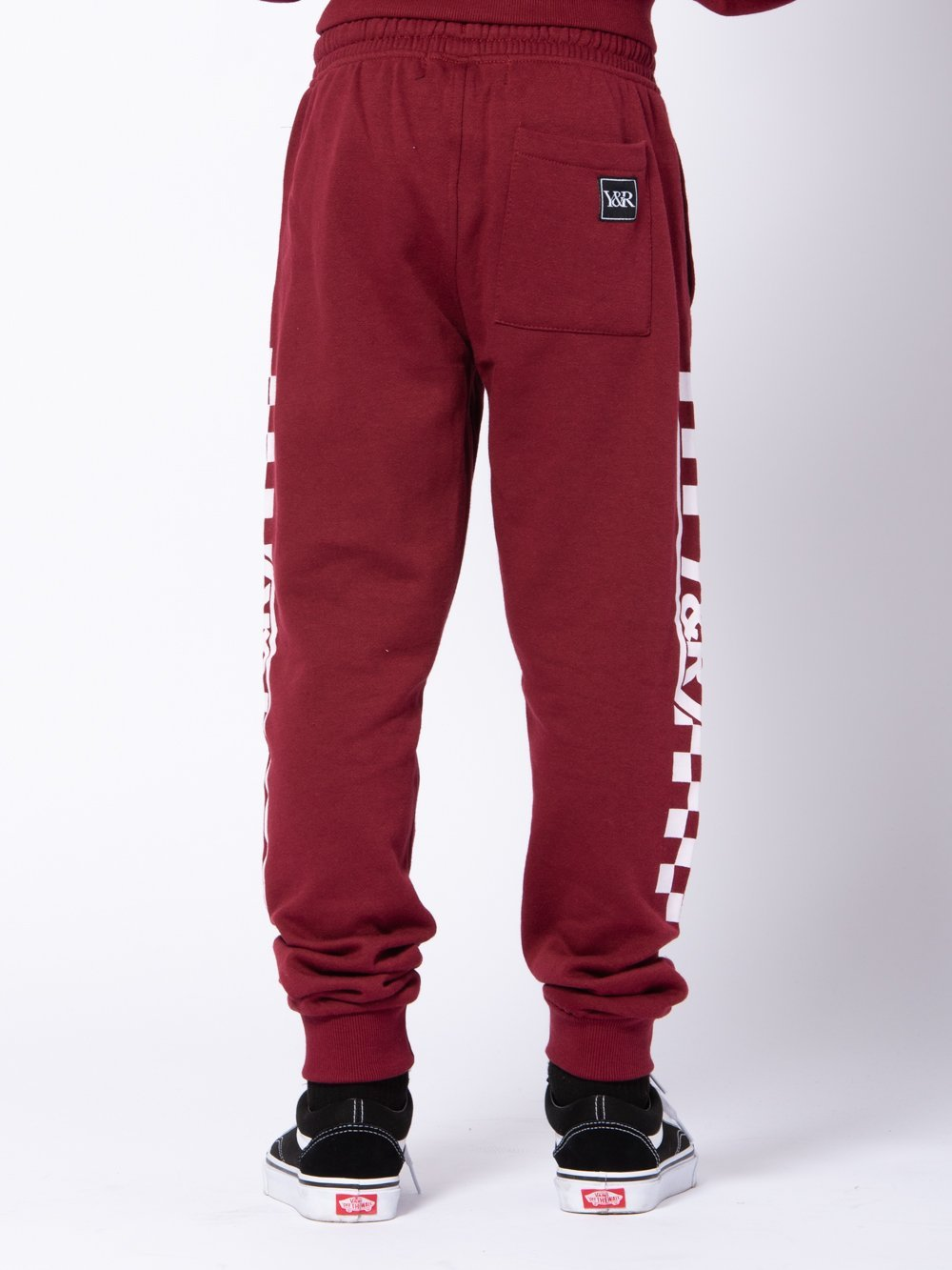 Young and Reckless Boys Youth - Bottoms - Sweatpants Youth Excursion Sweatpants - Burgundy