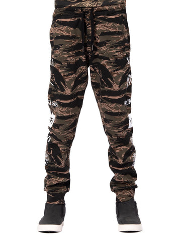 Young and Reckless Boys Youth - Bottoms - Sweatpants Youth Micah Sweatpants - Tiger Camo