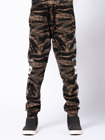 Youth Micah Sweatpants - Tiger Camo