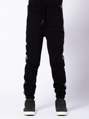 Youth Streamline Sweatpants - Black