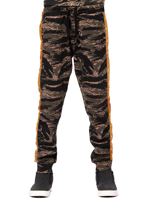 Young and Reckless Boys Youth - Bottoms - Sweatpants Youth Streamline Sweatpants - Tiger Camo