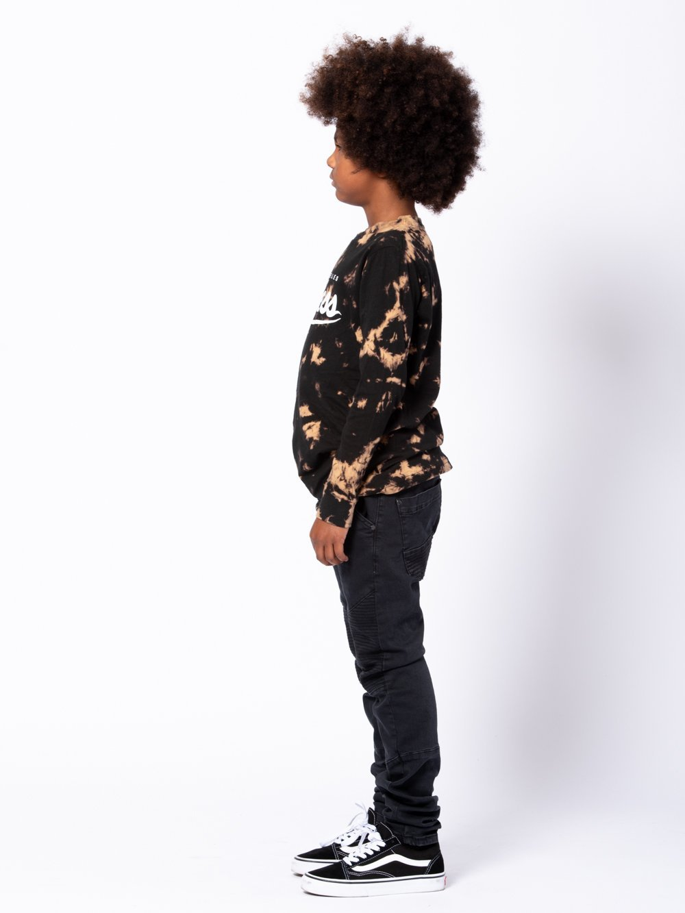 Young and Reckless Boys Youth - Tees - Long Sleeve Youth Halve Long Sleeve - Bleach