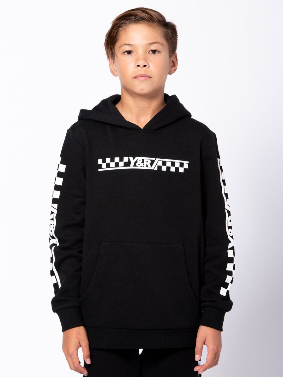 Youth Excursion Hoodie - Black