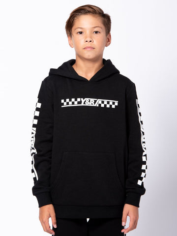 Young and Reckless Boys Youth - Tops - Hoodies Youth Excursion Hoodie - Black