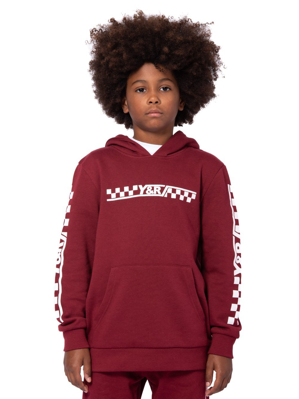 Young and Reckless Boys Youth - Tops - Hoodies Youth Excursion Hoodie -  Burgundy ... 276443f22