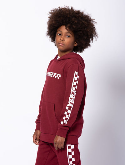 Young and Reckless Boys Youth - Tops - Hoodies Youth Excursion Hoodie - Burgundy