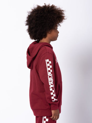 Youth Excursion Hoodie - Burgundy