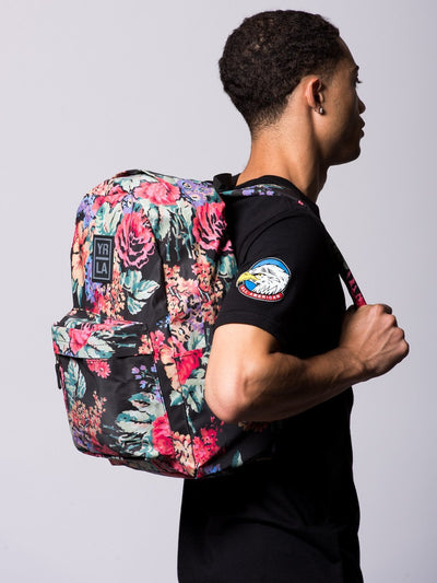 Young and Reckless Mens - Accessories - Bags Classic Laney Backpack- Floral