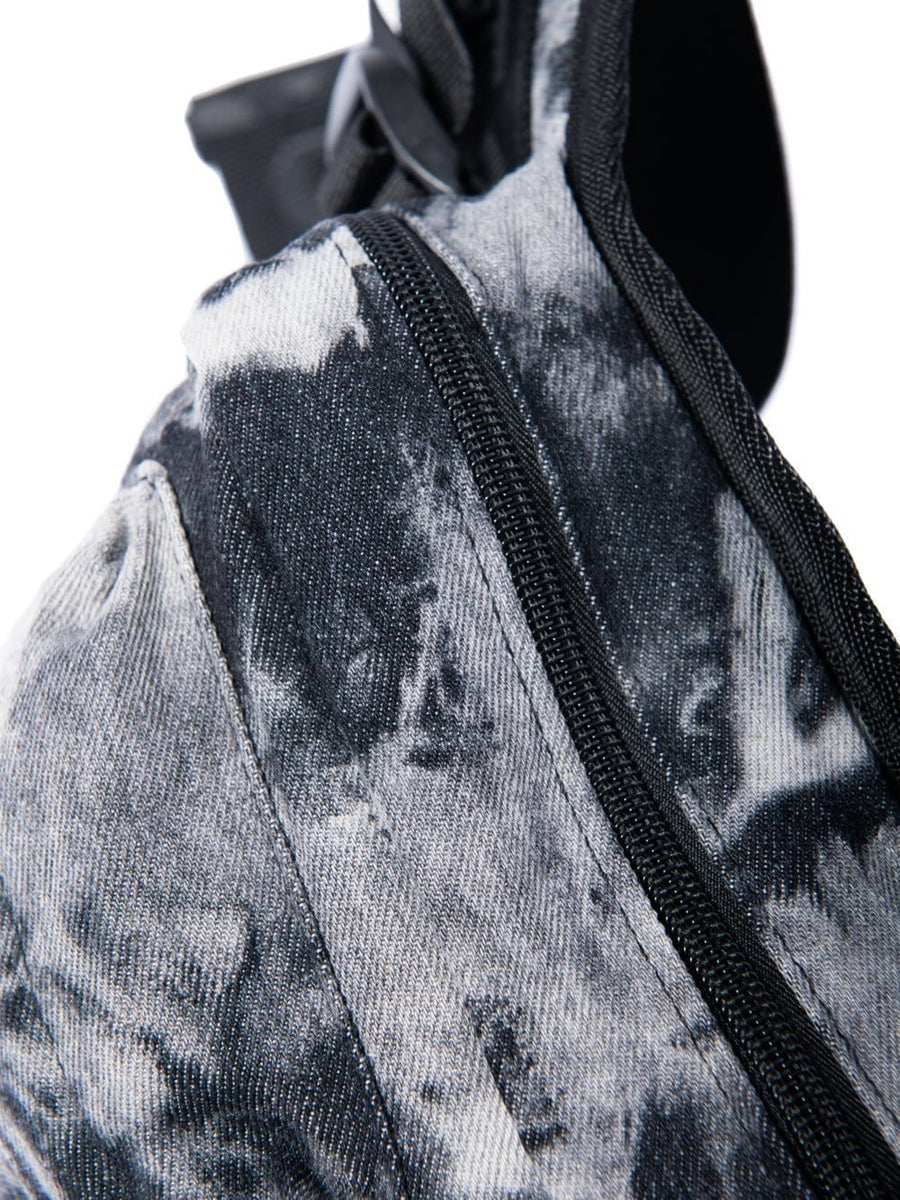 Clive Waist Pack - Black Bleach