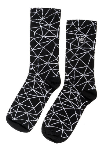 Young and Reckless Mens - Accessories - Socks Dimension Socks
