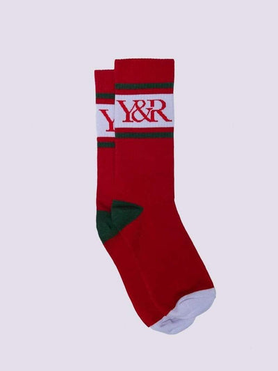 Young and Reckless Mens - Accessories - Socks Grand Socks - Red OS / RED/GREEN
