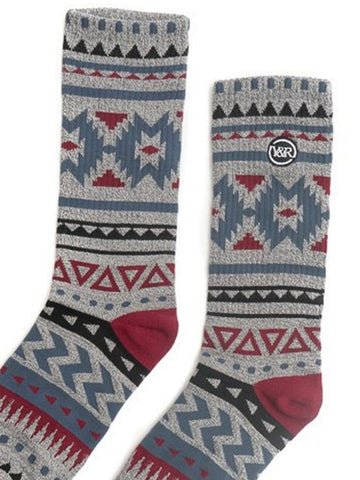 Native Socks - Grey/Multi