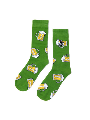 Young and Reckless Mens - Accessories - Socks Pot O Gold Socks - Green