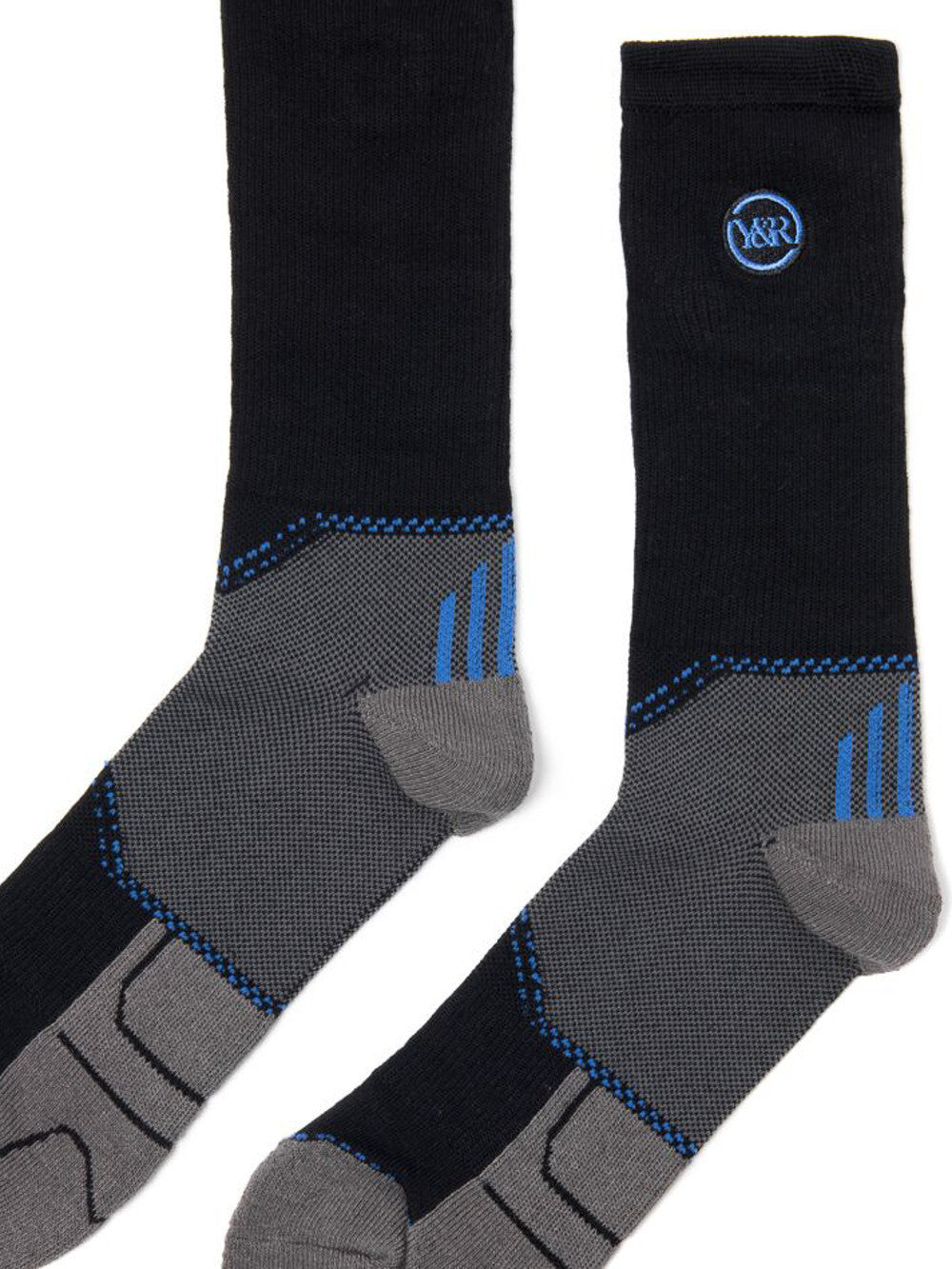Young and Reckless Mens - Accessories - Socks Premium Athletic Socks - Black