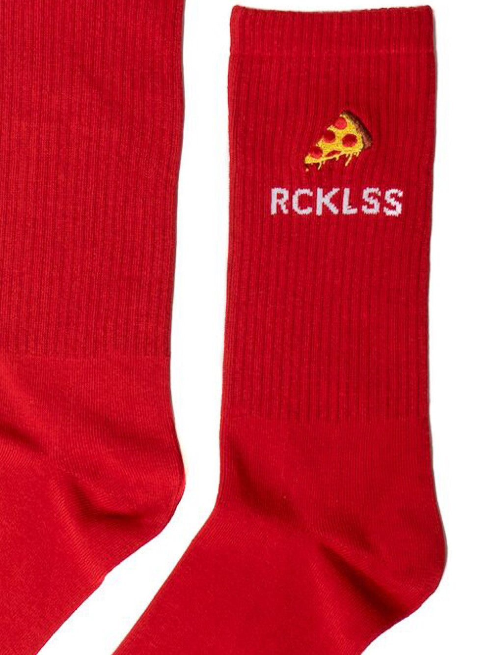 Young and Reckless Mens - Accessories - Socks Slice Socks - Red