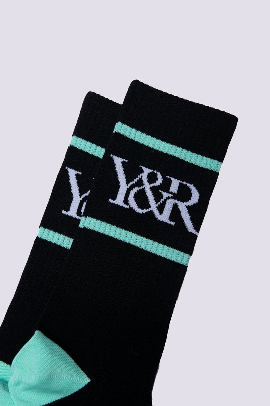 Trademark Socks - Black/Ice