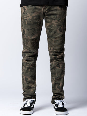 Young and Reckless Mens - Bottoms - Denim Delancey Jeans- Camo