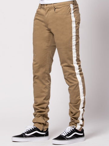 Young and Reckless Mens - Bottoms - Denim Demetrius Pants - Brown