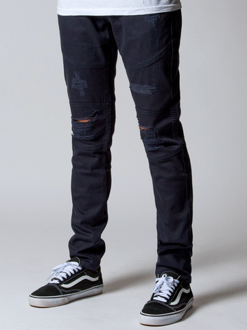 Young and Reckless Mens - Bottoms - Denim Edward Jean - Blue