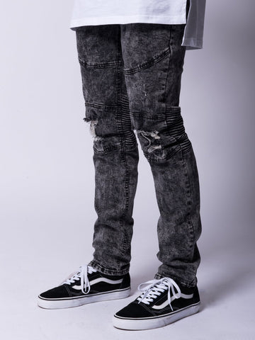Young and Reckless Mens - Bottoms - Denim Edward Jeans- Acid