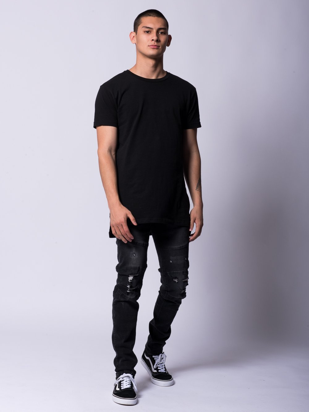 Young and Reckless Mens - Bottoms - Denim Edward Jeans- Black