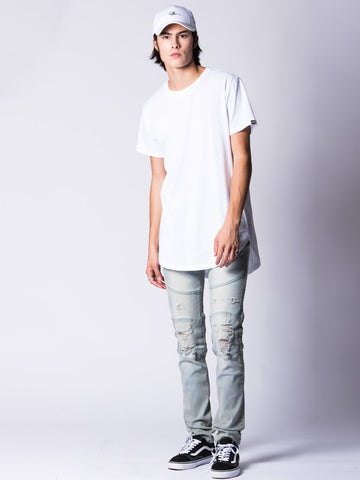 Edward Skinny Jeans- Light Blue
