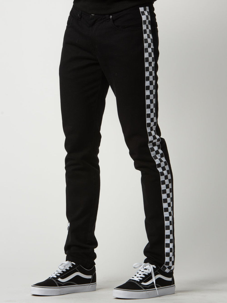 Gasket Jeans - Black/White