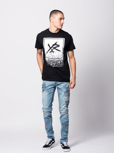 Young and Reckless Mens - Bottoms - Denim Griffon Jeans - Blue