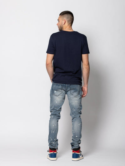 Young and Reckless Mens - Bottoms - Denim Hauser Denim - Indigo 28 / INDIGO