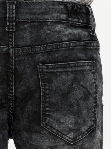 Rapture Denim Shorts - Black