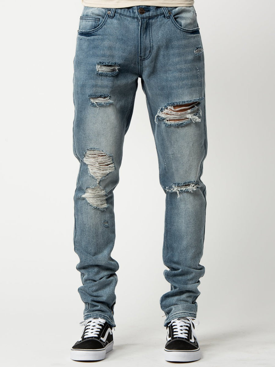 Robertson Tapered Jeans - Indigo Blue