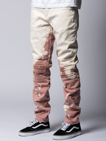 Young and Reckless Mens - Bottoms - Denim Spencer Jeans- Rose