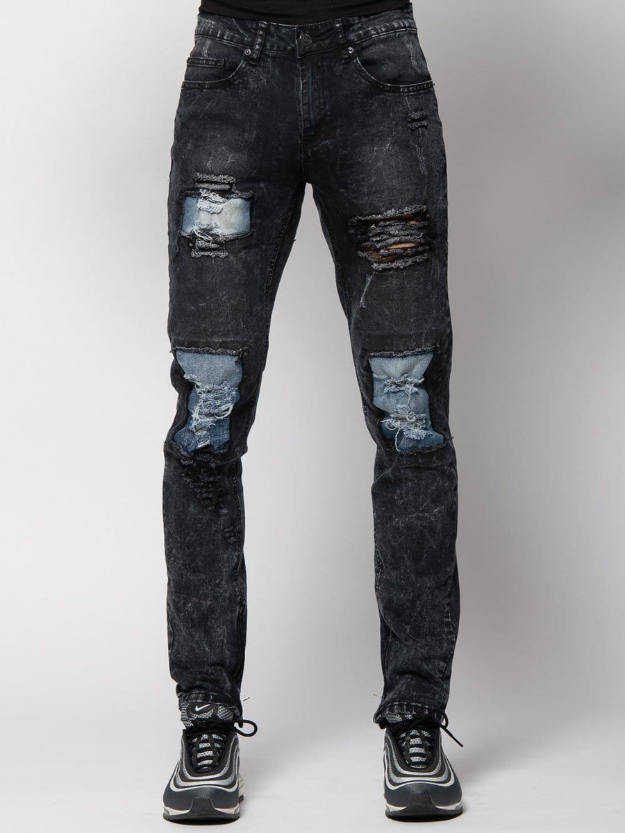 Zander Tapered Denim - Black